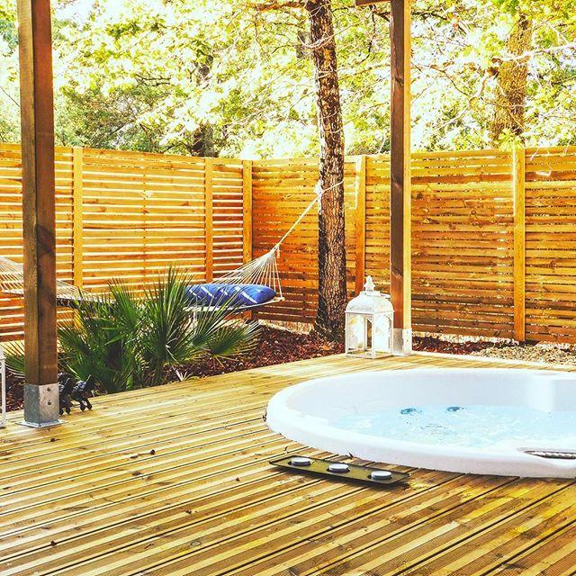L 39 haute en couleur cabanes spas audenge gironde 33 - Chambre d hote couleur bois et spa ...