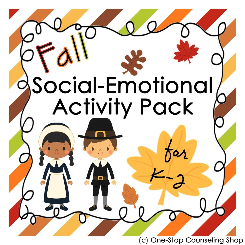 New Product Fall Social Emotional Activity Pack