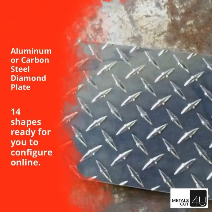 Some Lesser Known Uses Of Aluminum Diamond Plate Video Video In 2020 Diamond Plate Plates Aluminum