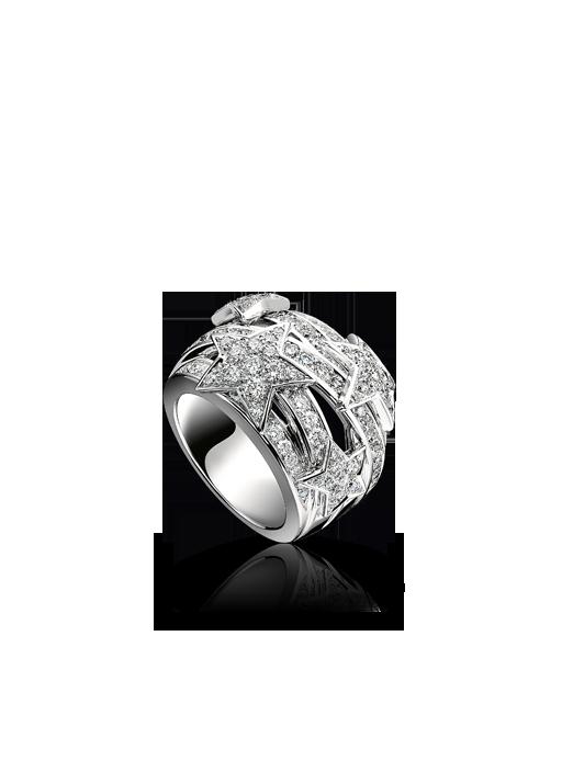 844a3e8700cb Sortija Comète de oro blanco de 18 quilates y diamantes. | Joyería y ...