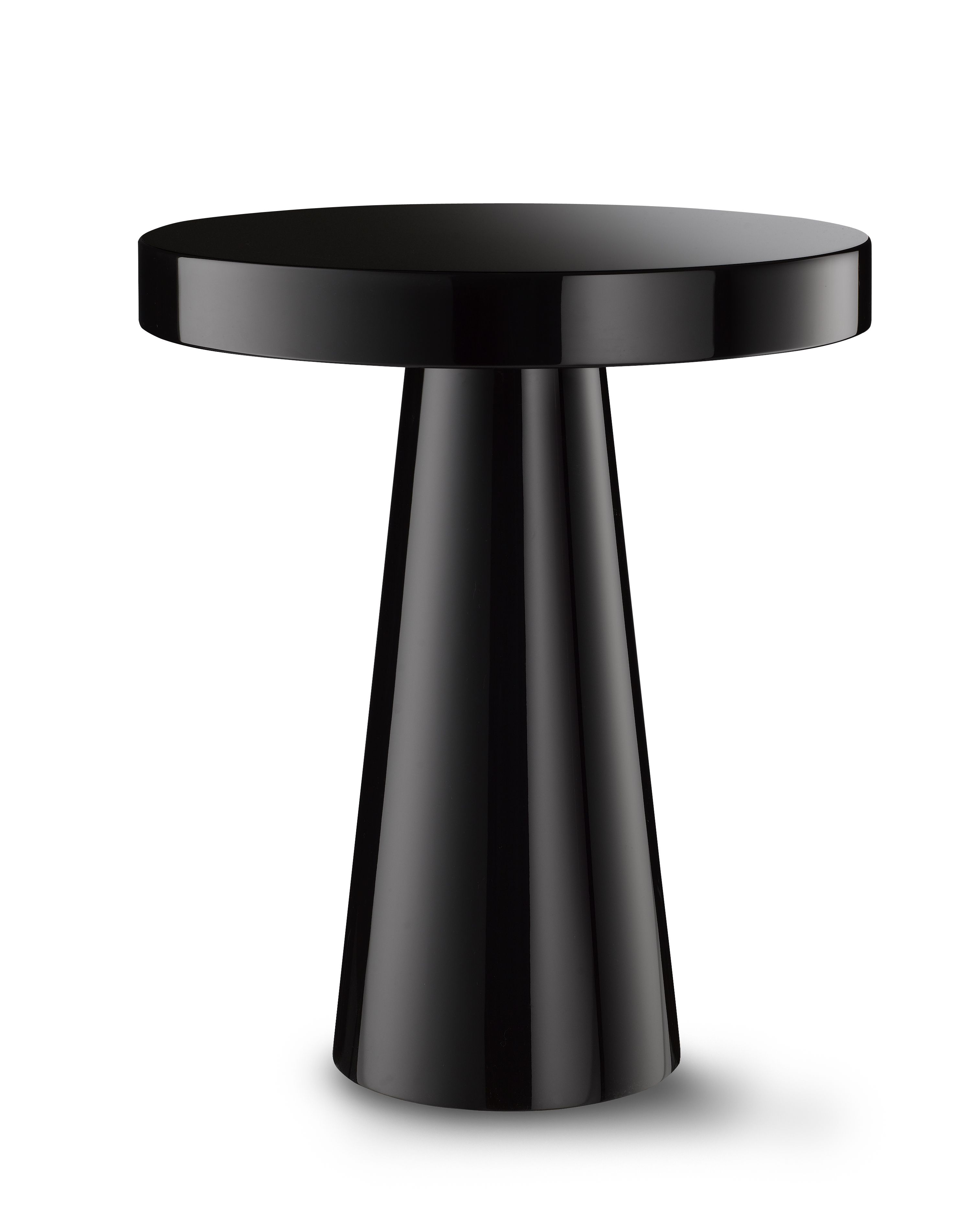 DAVIDSON London The Mushroom Table in High Gloss Black Lacquer