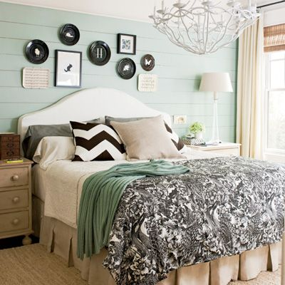 modern drama master bedroom decorating ideas southern living - Master Bedrooms Decorating Ideas