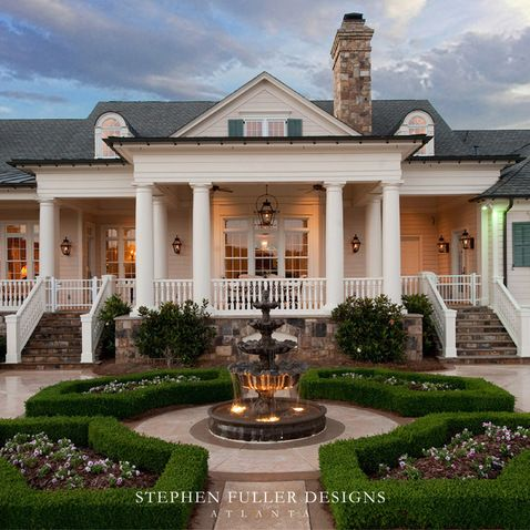 A Classic Southern Estate House Exterior House Southern Homes