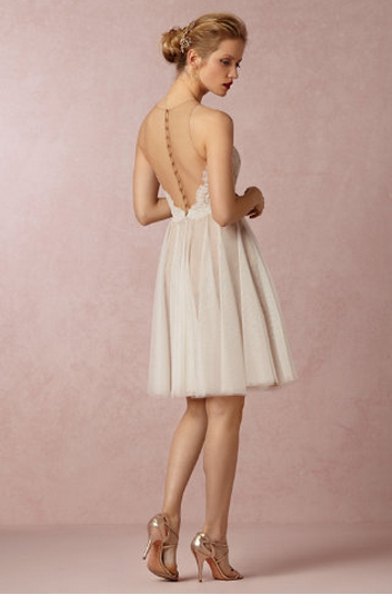 Short Backless Wedding Gown In 2019 Bride Reception