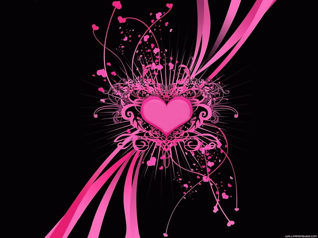 10 Top Pink And Black Wallpapers Full Hd 1080p For Pc Background Love Pink Wallpaper Heart Wallpaper Pink And Black Wallpaper