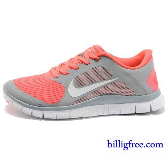 Nike Schuhe Orange Grau
