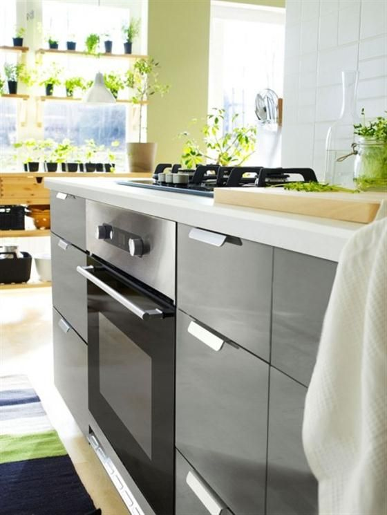 11 New Kitchen Interior Design For 2011 With Ikea Furniture Decoration Ideas 20 New Kitchen Interior Interior Design Kitchen Kitchen