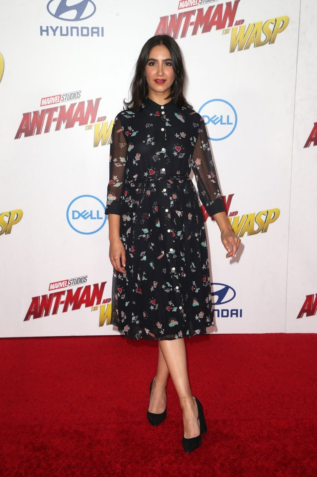 2174a8876ac0a Nikohl Boosheri Ant-Man and the Wasp Premiere in LA   Daily ...