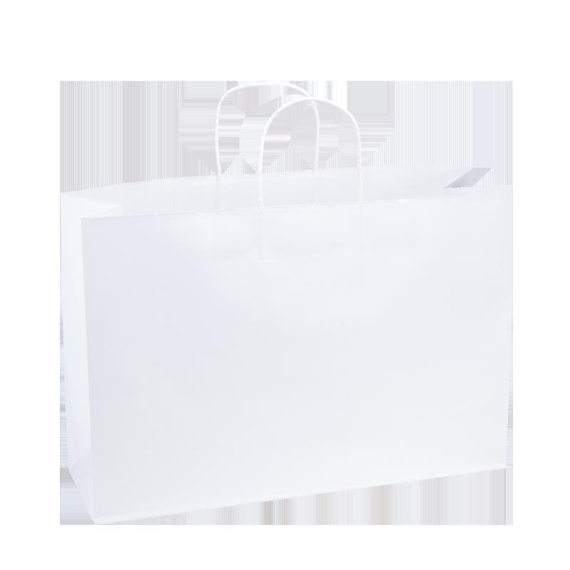 Paper Bag X Large Wide 420w X 130d X 310h White Pack 100 In 2021 Paper Bag Paper Packing