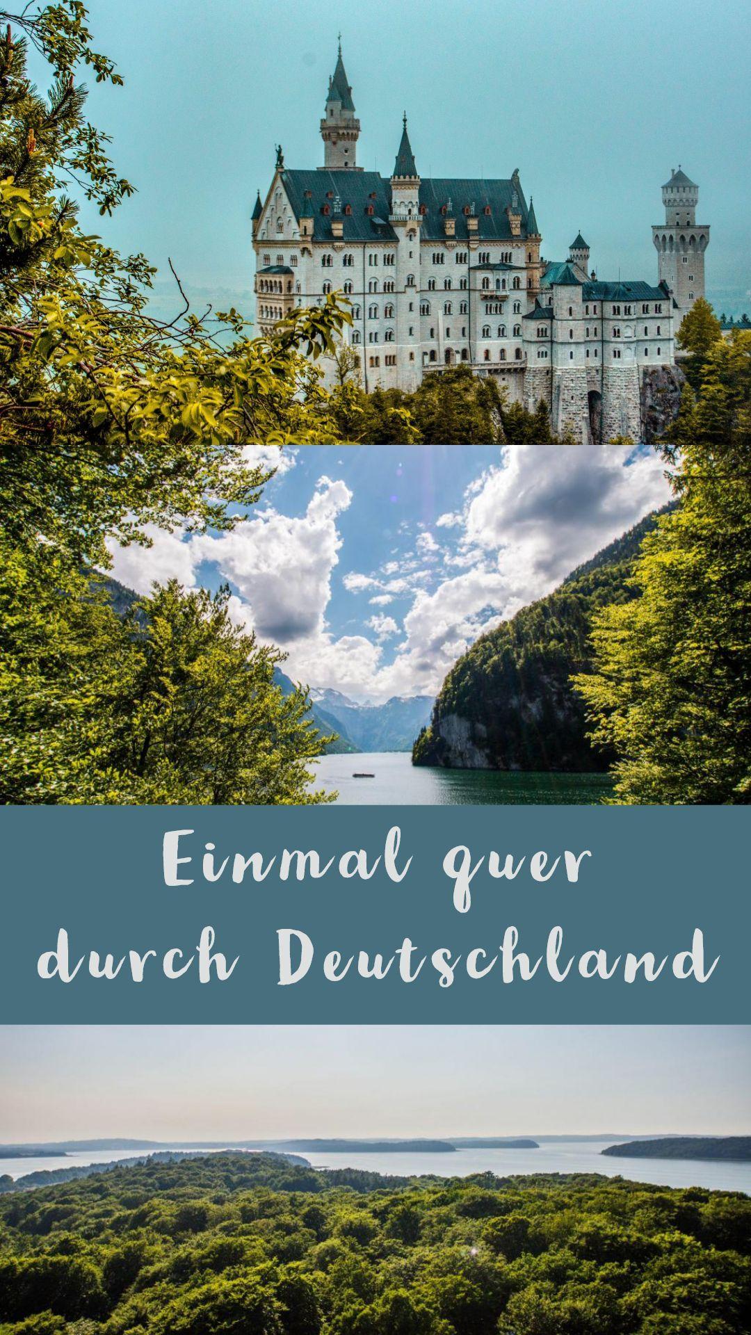 Photo of Fünf Wochen quer durch Deutschland und neun Bundesländer. Was erlebt man alles…