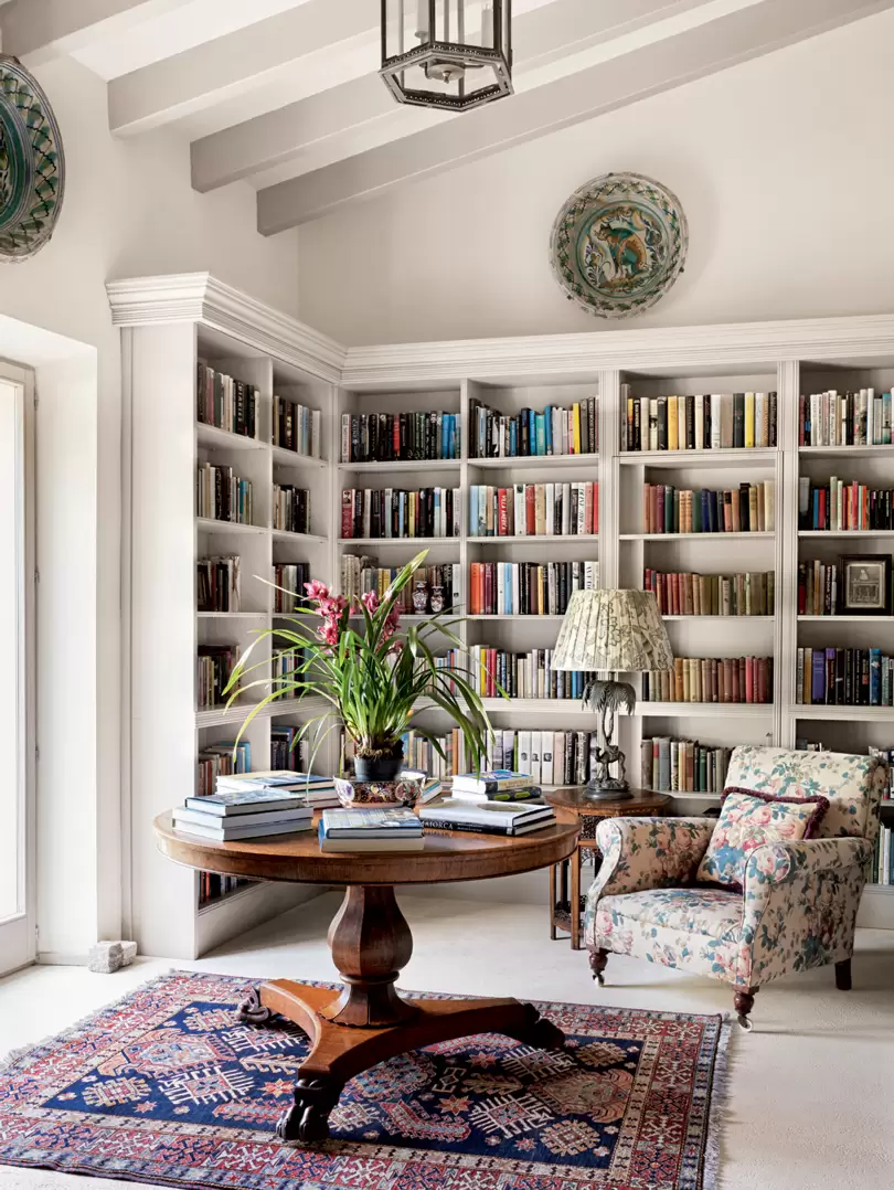 Photo of The owner of Bennison Fabrics' house in Mallorca is a delightful ode to pattern and colour