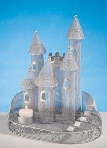 Castle centerpiece