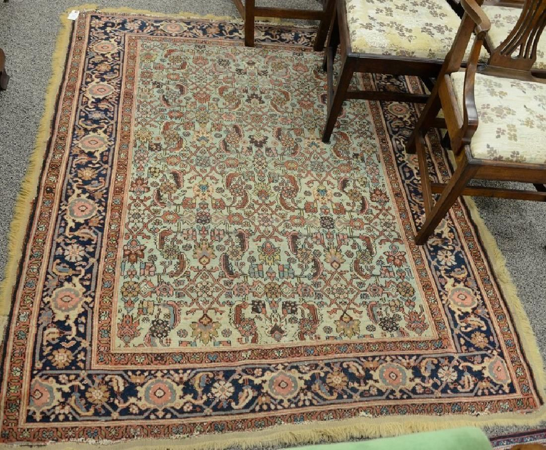 Oriental Throw Rug Late 19th To Early 20th Century Lot 0484