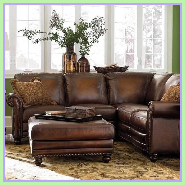 98 Reference Of Corner Sofa Dark Brown Leather In 2020 Corner Sofa For Small Space Sofas For Small Spaces Small Sectional Sofa
