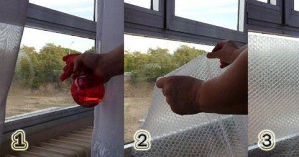 Como aislar ventanas del frio