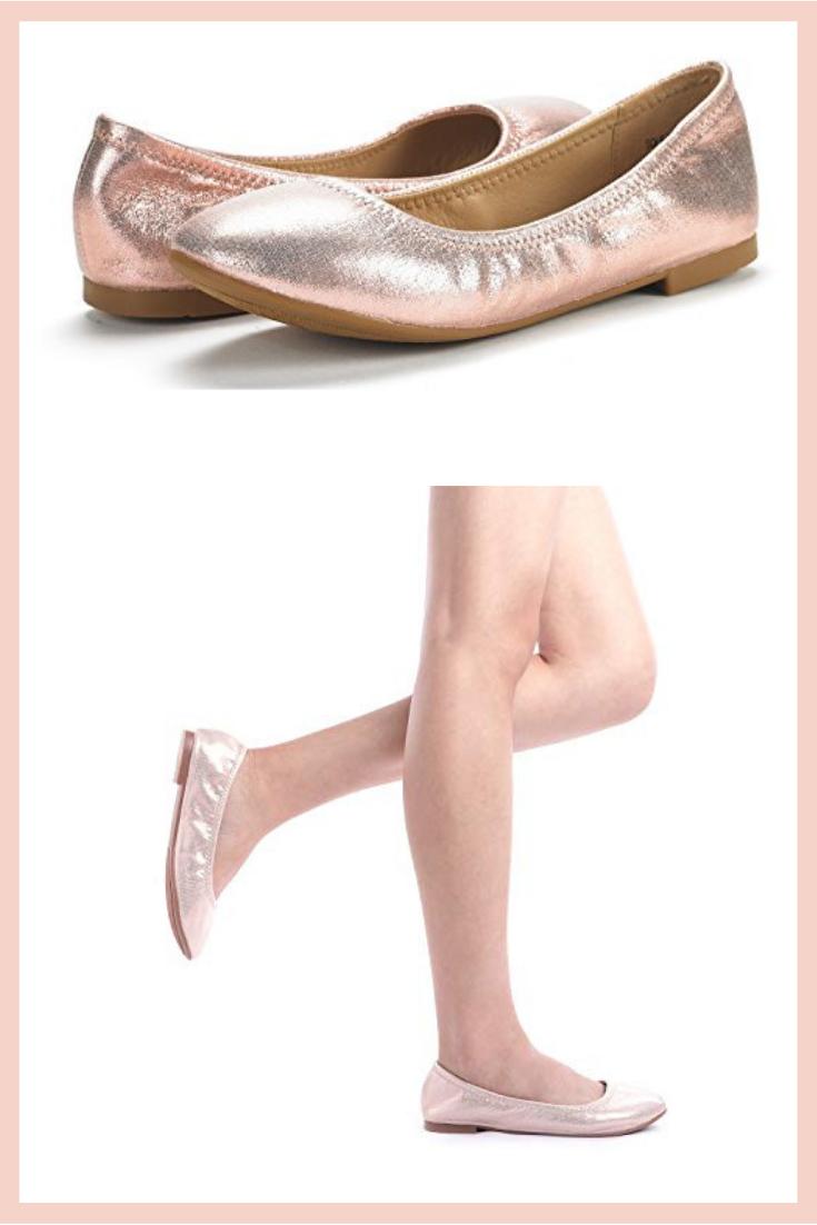 849481eb798b DREAM PAIRS Women s Sole Happy Ballerina Walking Flats Shoes