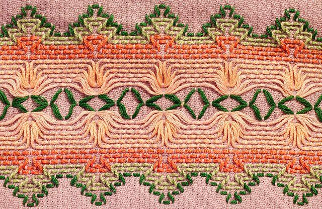 Huck Embroidery / Punto Yugoslavo / Swedish Weaving / Bordado Vagonite. Christmas Patterns