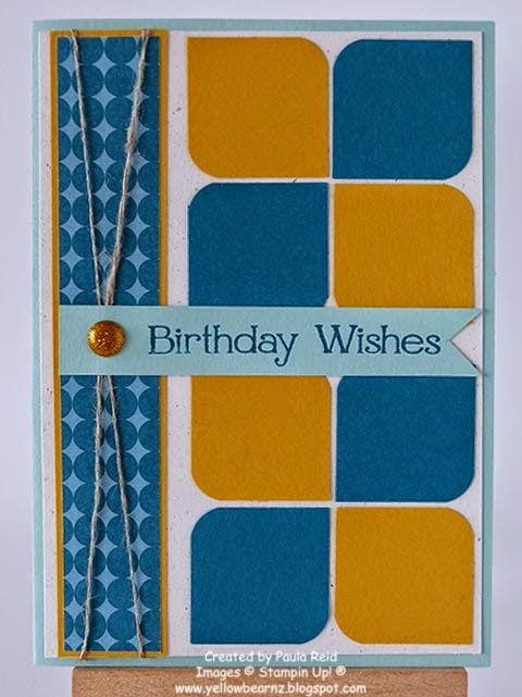 yellowbear stampin birthday pinterest cards and card ideas