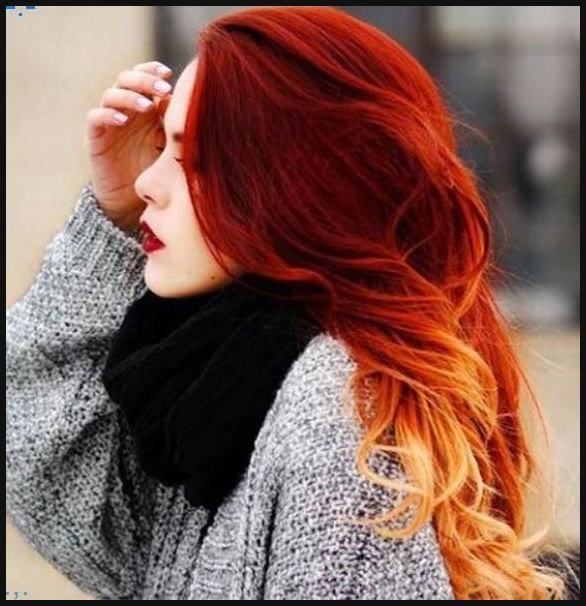 20 heiesten roten Ombre Haar Ideen  Neue Frisur  Einfache Frisuren  hair  Pinterest  Ombr