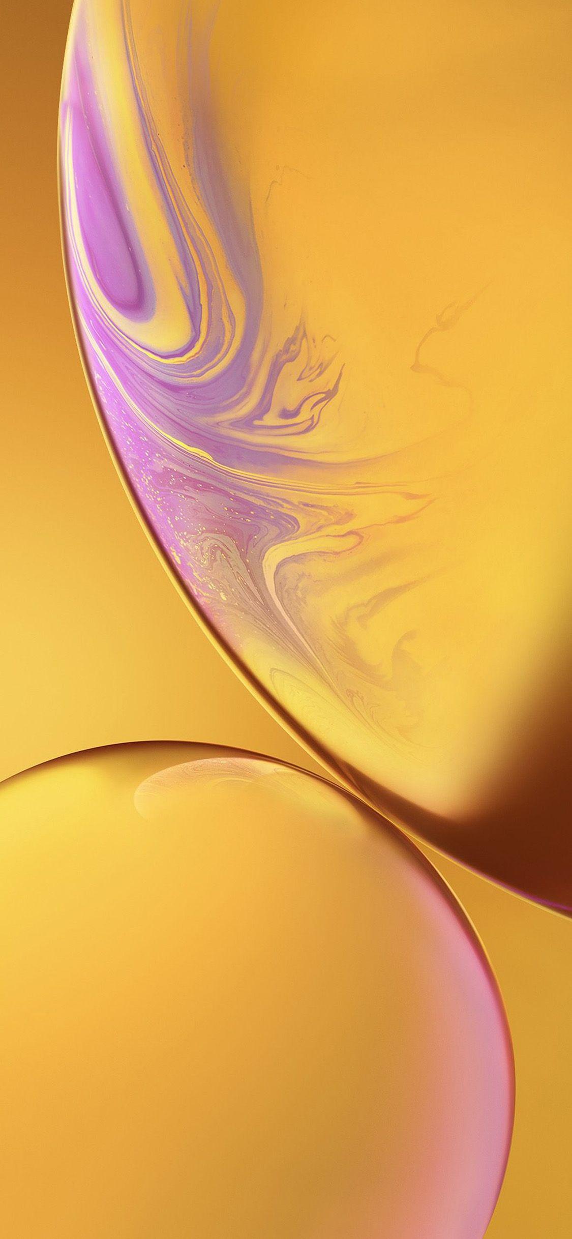 Bg35 Iphone Xs Max Apple Official Art Yellow Bubble Via Http Iphonexpapers Com Iphone Wallpaper Yellow Apple Logo Wallpaper Iphone Abstract Iphone Wallpaper