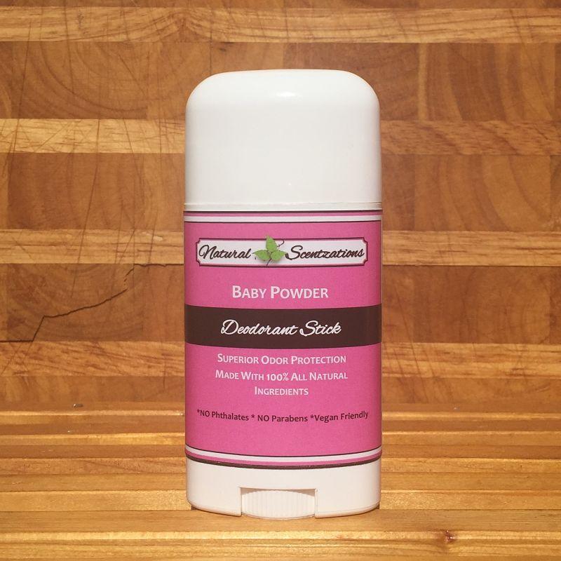 Baby Powder Deodorant Stick Deodorant Cruelty Free Deodorant Baby Powder