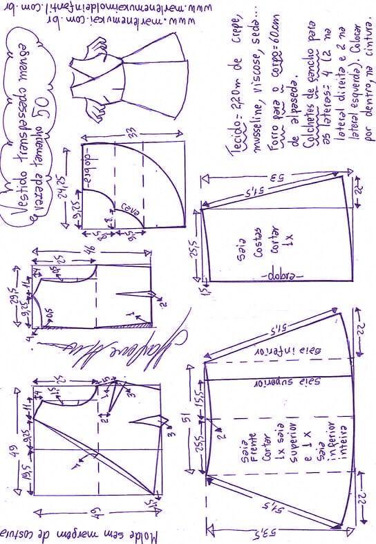 Pin de CLAUDIA en Falda | Pinterest | Costura, Patrones de costura y ...