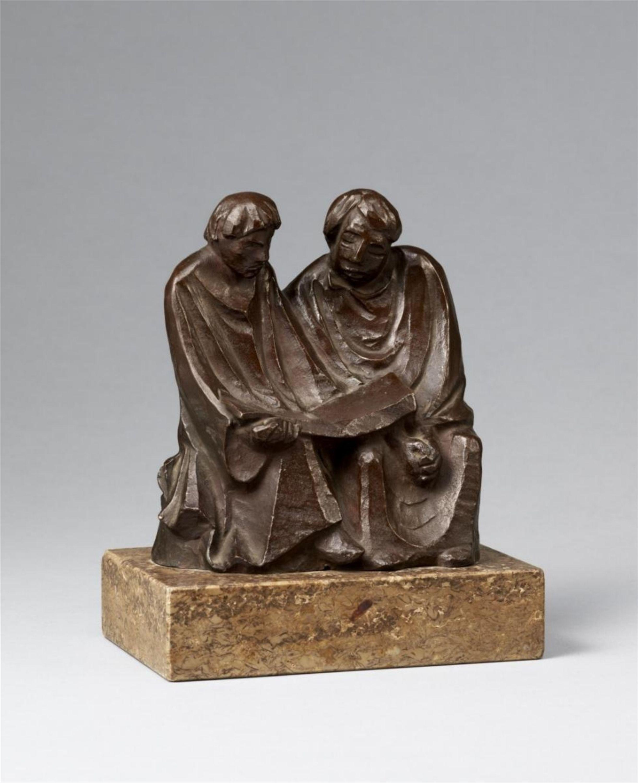 Ernst Barlach, Die lesenden Mönche II (Die Buchleser), 1921, Auktion 1078 Moderne Kunst, Lot 240
