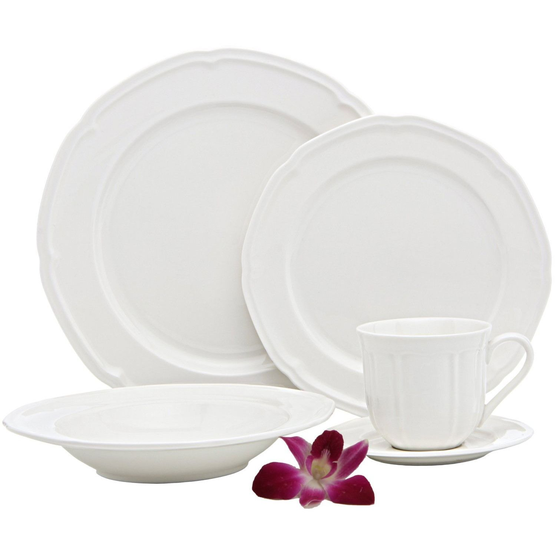 French Riviera Premium 40 Piece Dinnerware Set Service For 8