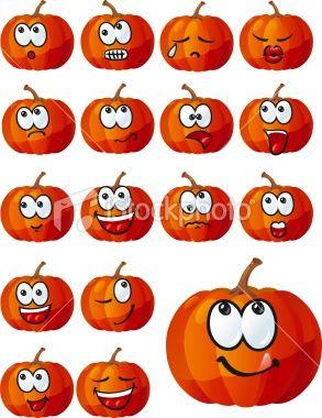 .Kürbisgesichter #pumpkinpaintingideas