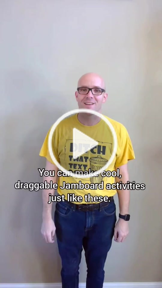 Matt Miller Ditchthattextbook Has Created A Short Video On Tiktok With Music Sunny Day Easy Draggable Jamboard Activities In Minutes Teachersoftiktok Di 2021