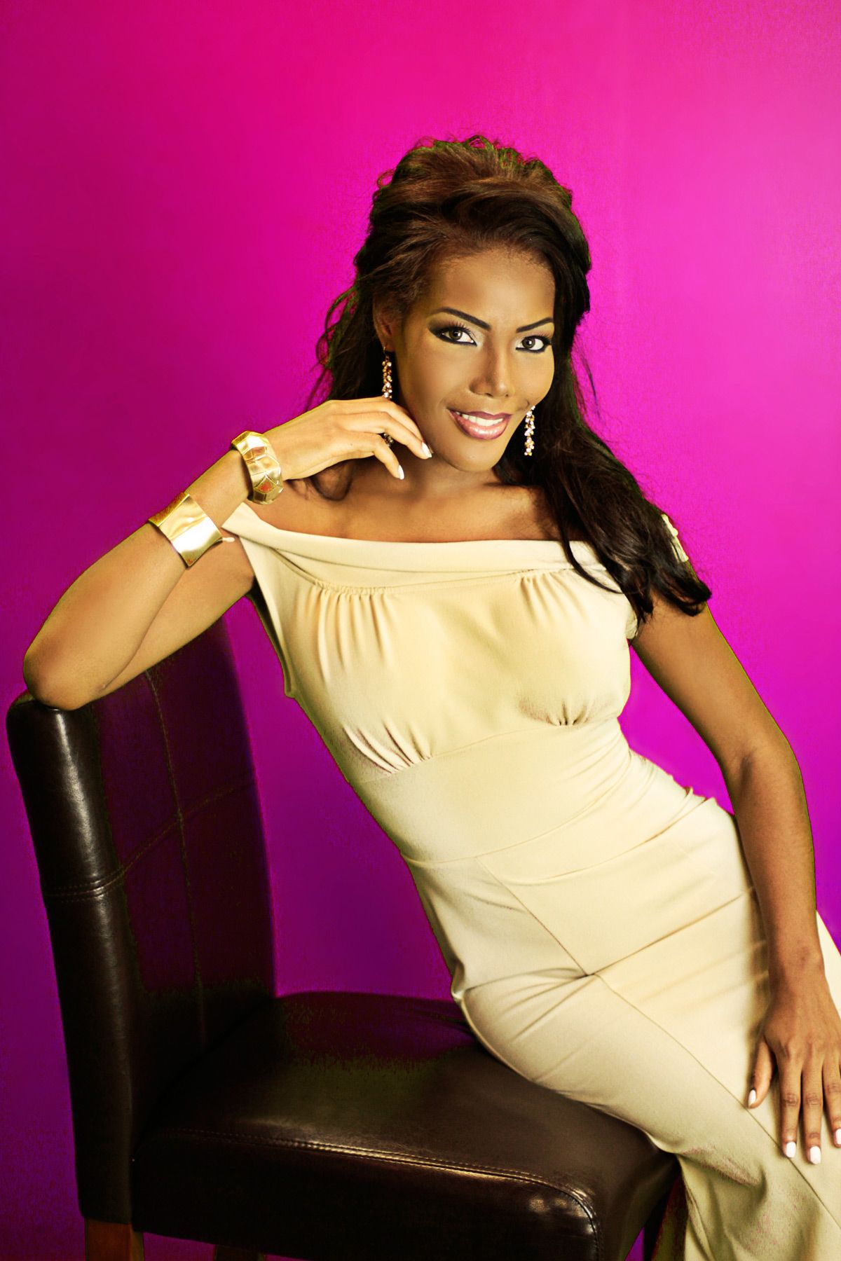Monifa Jansen, Miss Universe Curacao 2012   Miss Universe