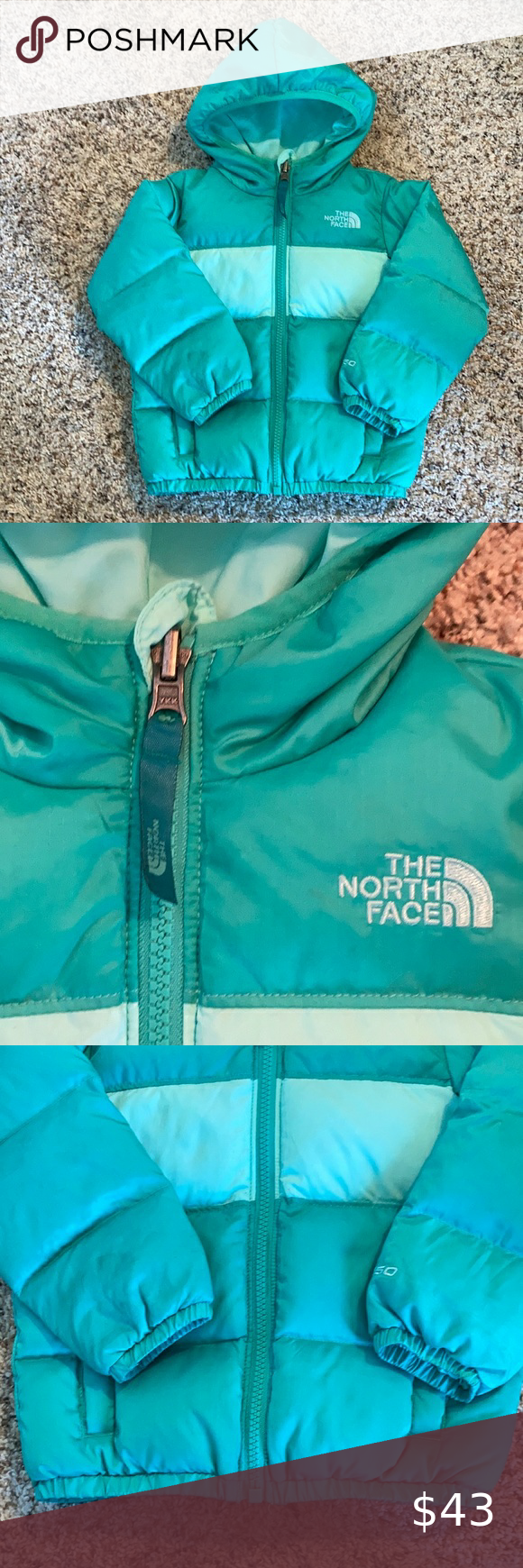 North Face Toddler Puffer Coat Nwot Size 2t No Sewn On Tags On Reversible Nf Coats Teal Reversible Toddler Puffer Co Puffer Coat Clothes Design Kids Jacket [ 1740 x 580 Pixel ]