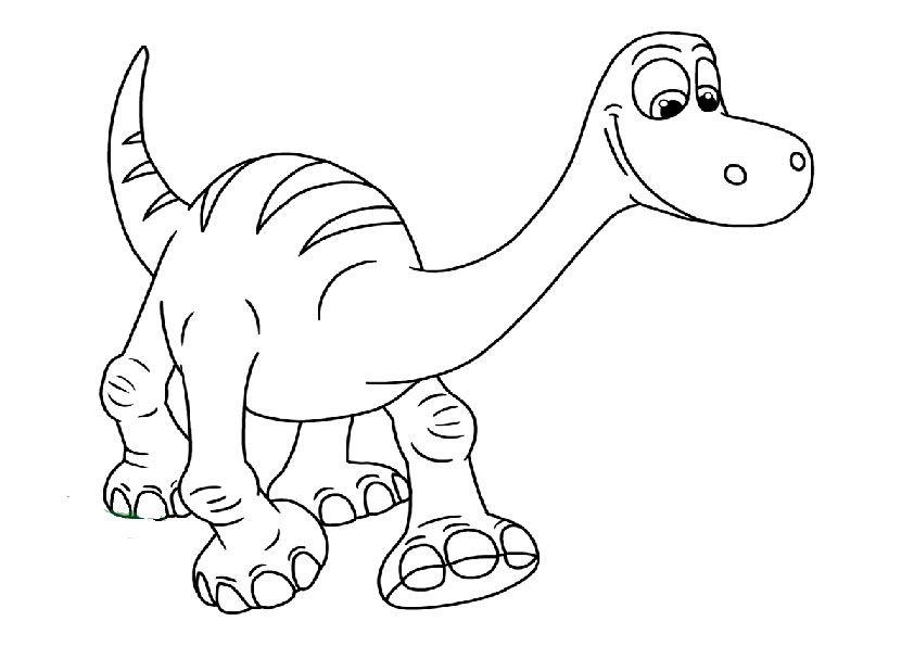 Ausmalbilder Der Gute Dinosaurier 25 Dinosaurier