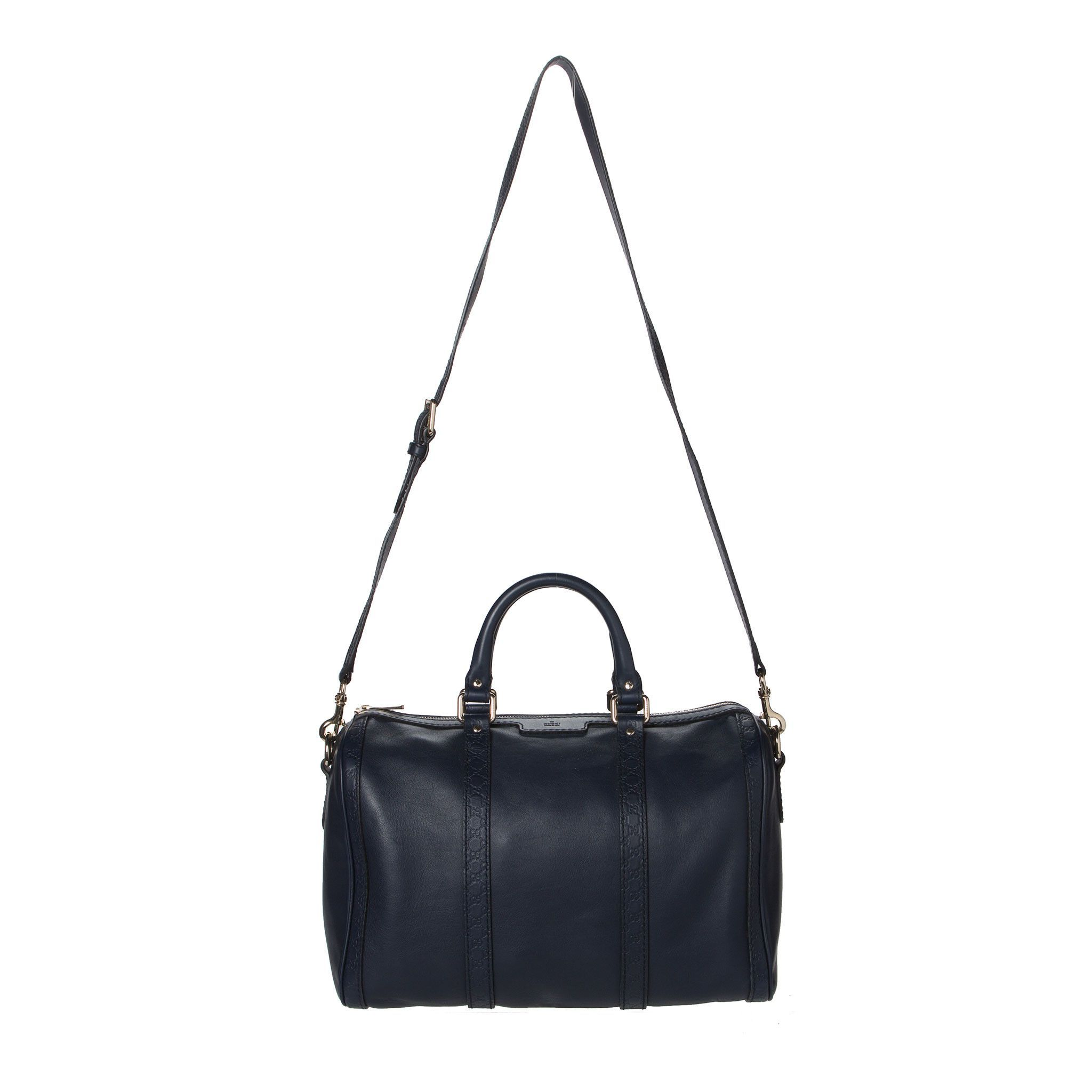 0c95fe0c Sold -Gucci Navy Blue Boston Bag. Pure Class | ♥♥ Style House ...