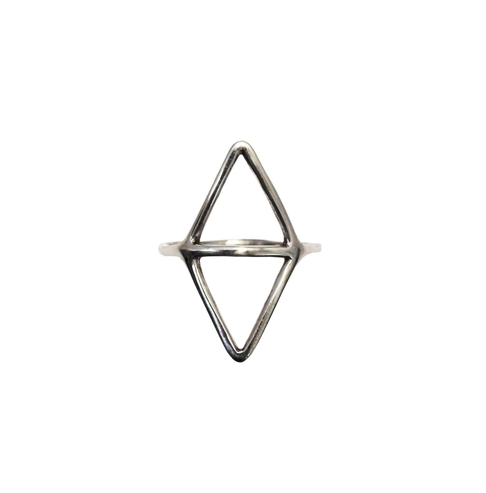 Mei-Li Rose Jewellery triangle wire ring   GNOSSEM: LOVES ...