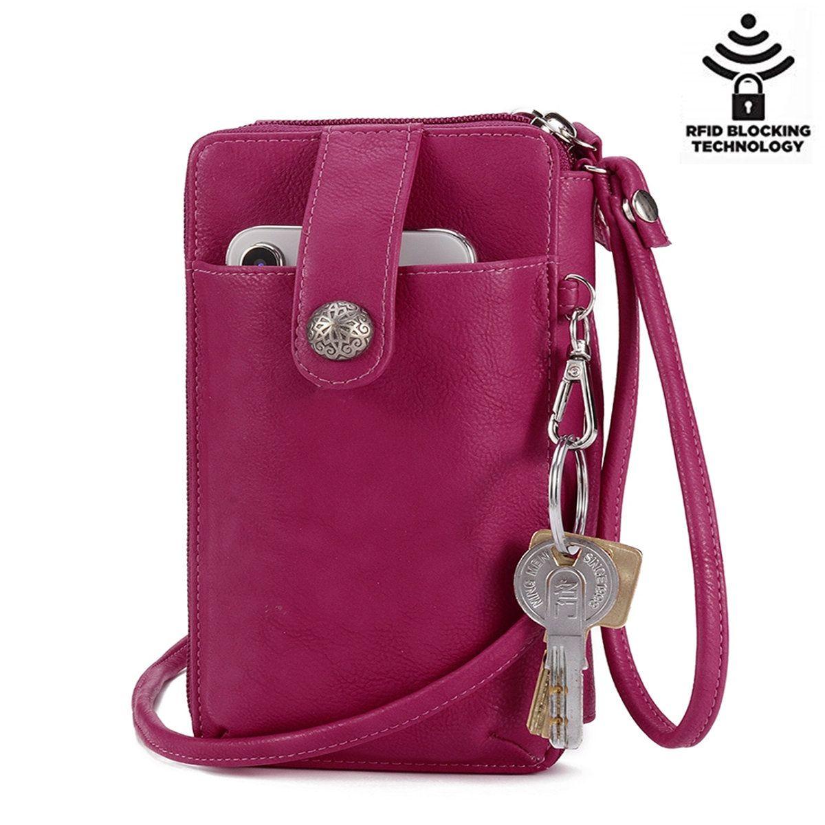 8f6af0bc465c6 Hot-sale designer Brenice Women Square Card Holder Phone Bag Multi-layer  Crossbody Bag Online - NewChic Mobile