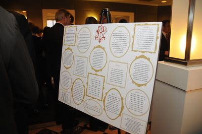 Wedding reception seating chart with monogram logo by hh design house also rh pinterest