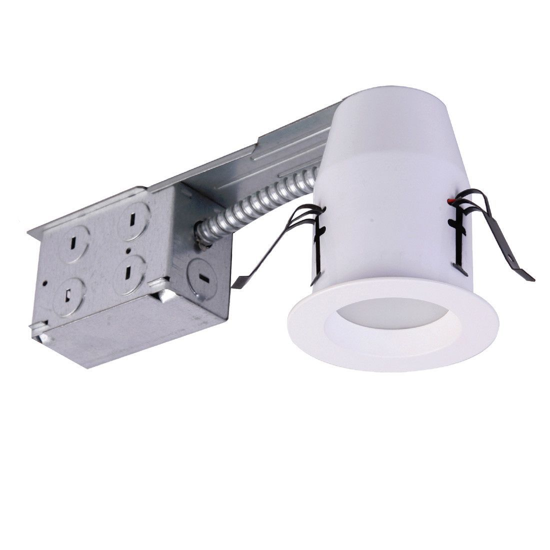 3 inch e pro white led recessed down light w remodel housing 3 inch e pro white led recessed down light w remodel housing aloadofball Choice Image