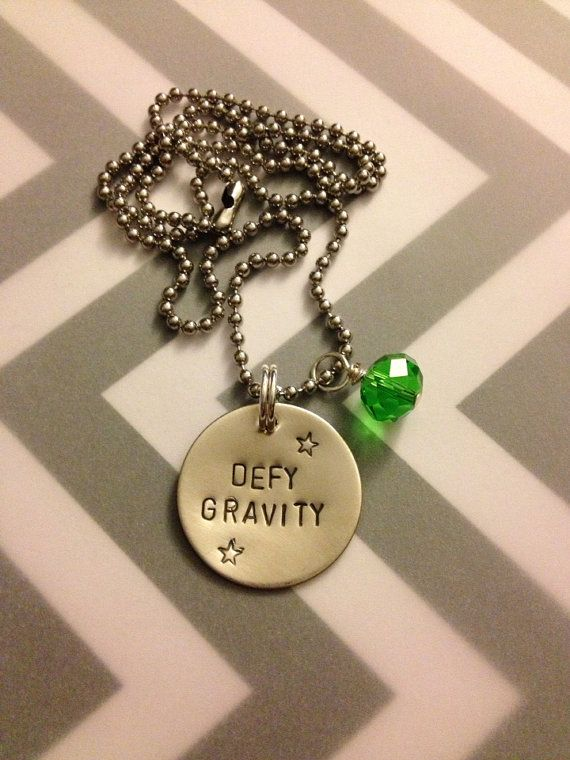 Defy Gravity - Wicked Necklace