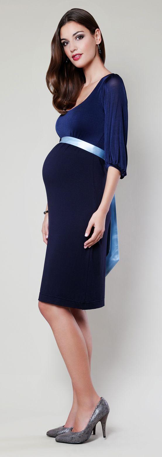 umstandskleid carrie blau   umstandskleid, festliche kleider