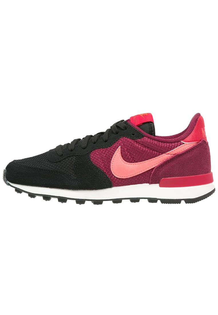 079659c93005 Nike Sportswear INTERNATIONALIST - Trainers - black bright crimson deep  garnet gym red for £52.00 (21 03 16) with free delivery at Zalando