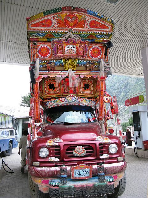 Bedford Truck Pakistan Truck Art Truck Art Pakistan Art Cars
