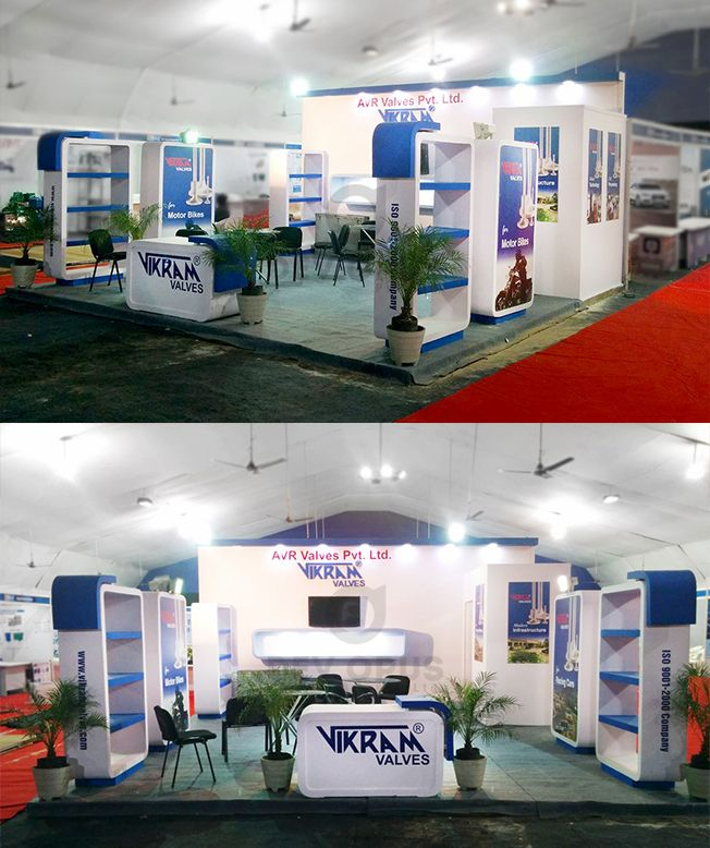 Exhibition Stall Design Agency In Gujarat : Exhibition stand design fabrication for engineering industries at
