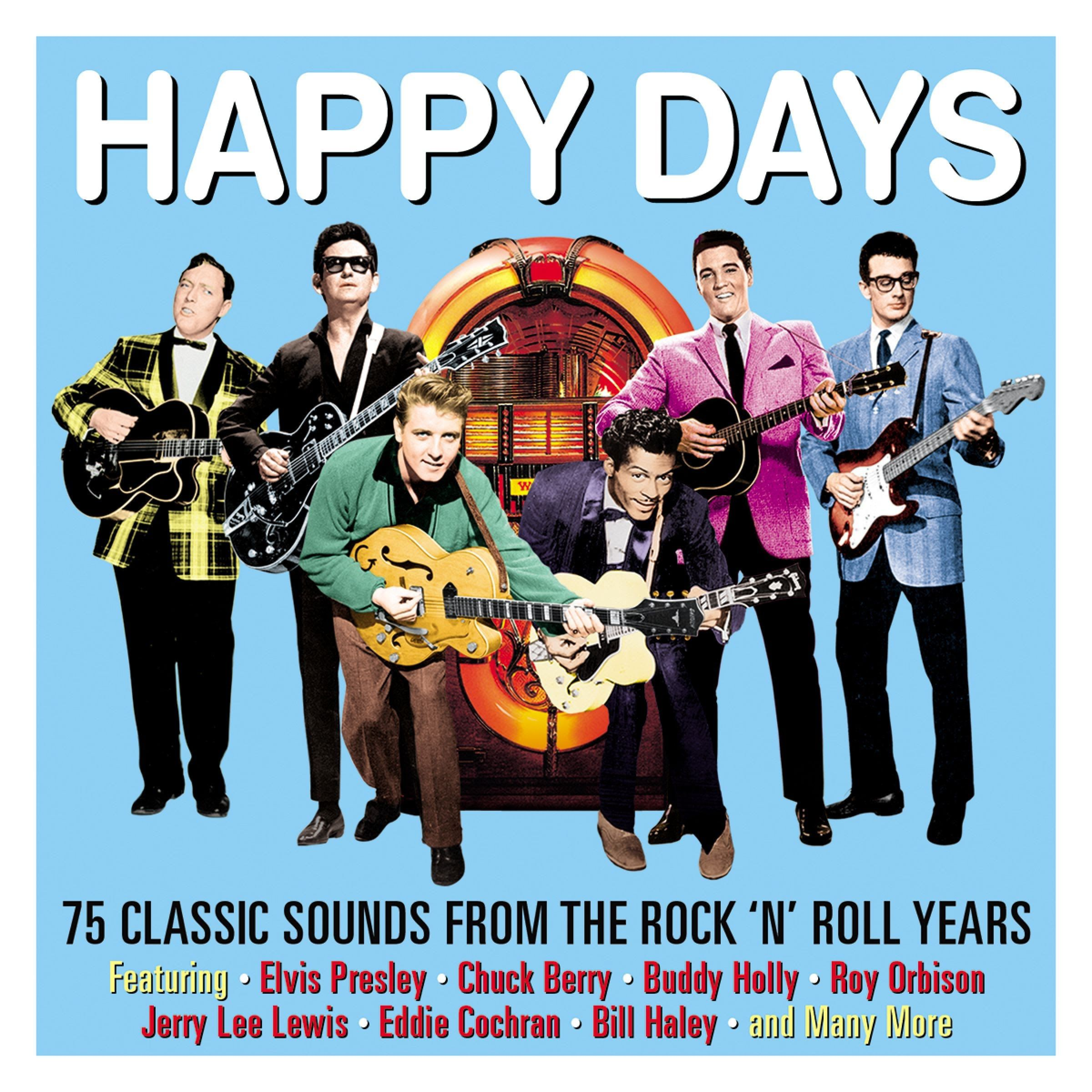 various artists happy days 75 classics sounds from the. Black Bedroom Furniture Sets. Home Design Ideas