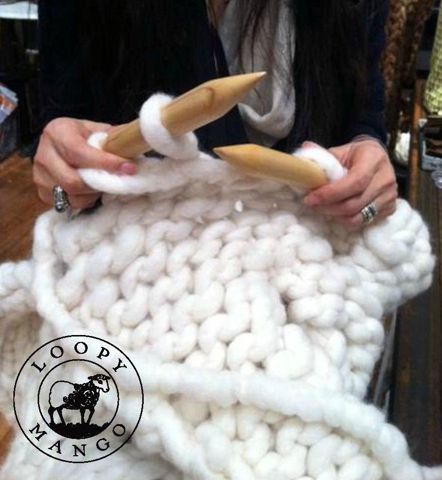 Large Knitting Blankets : Giant circular knitting needles us or