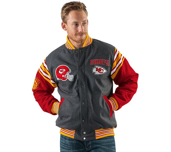 meet 2c965 c76db NFL Team Color Reversible Wool Blend Jacket | Loyal to the ...