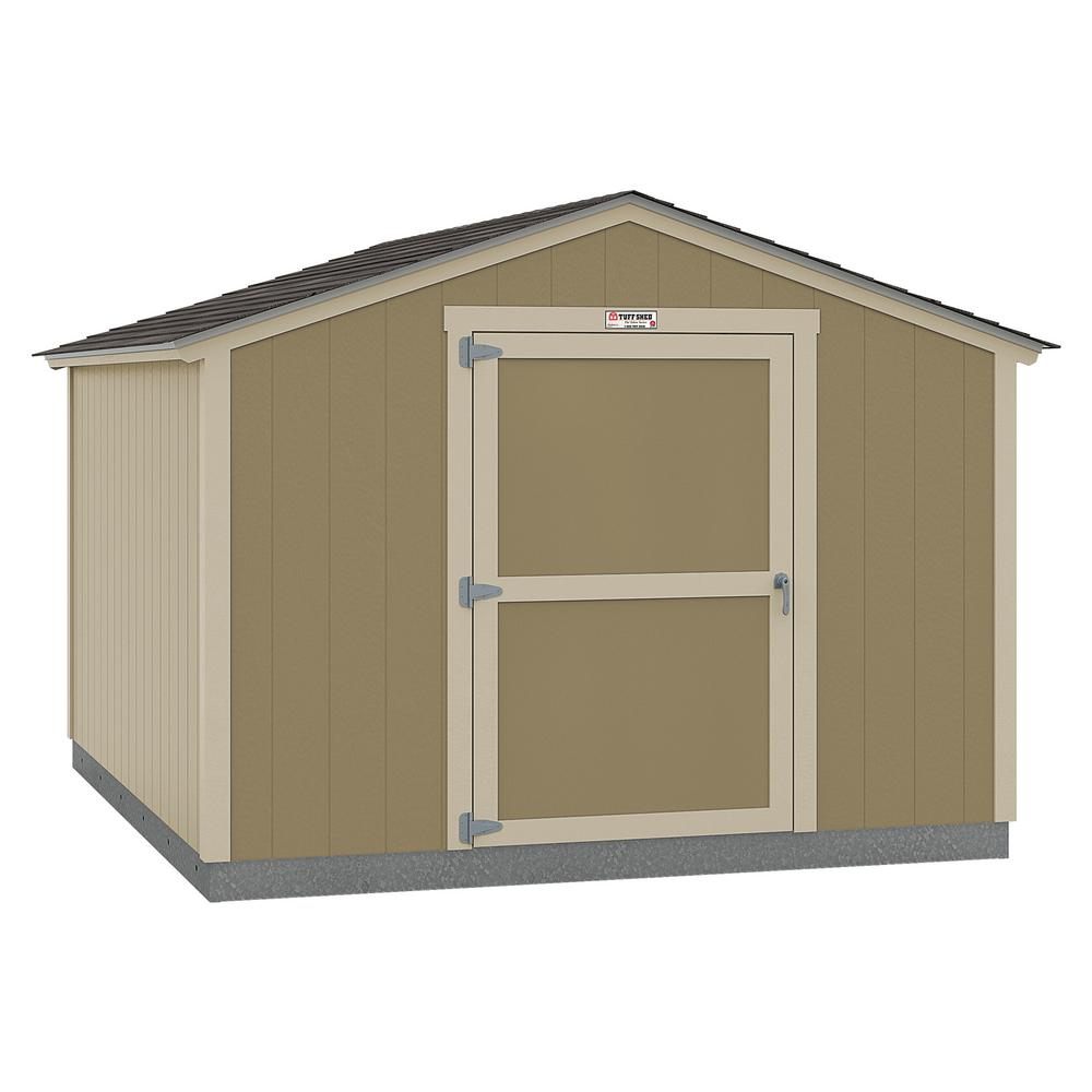 Tuff Shed Installed The Tahoe Series Standard Ranch 10 Ft X 12 Ft X 8 Ft 2 In Un Painted Wood Storage Building Shed 10x12 Sr E1 Np The Home Depot In 2020