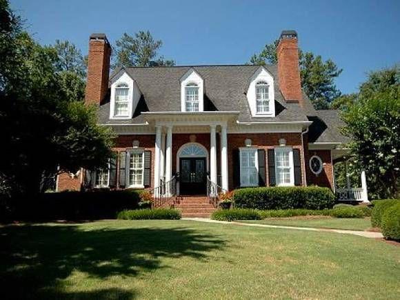 630 Covey Pl Johns creek, GA  House in Quail hollow, Fulton County, Johns creek, GA, 30097 traditional brick colonial house