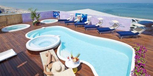 Piscina panoramica Nautico Hotel Riccione Hotel