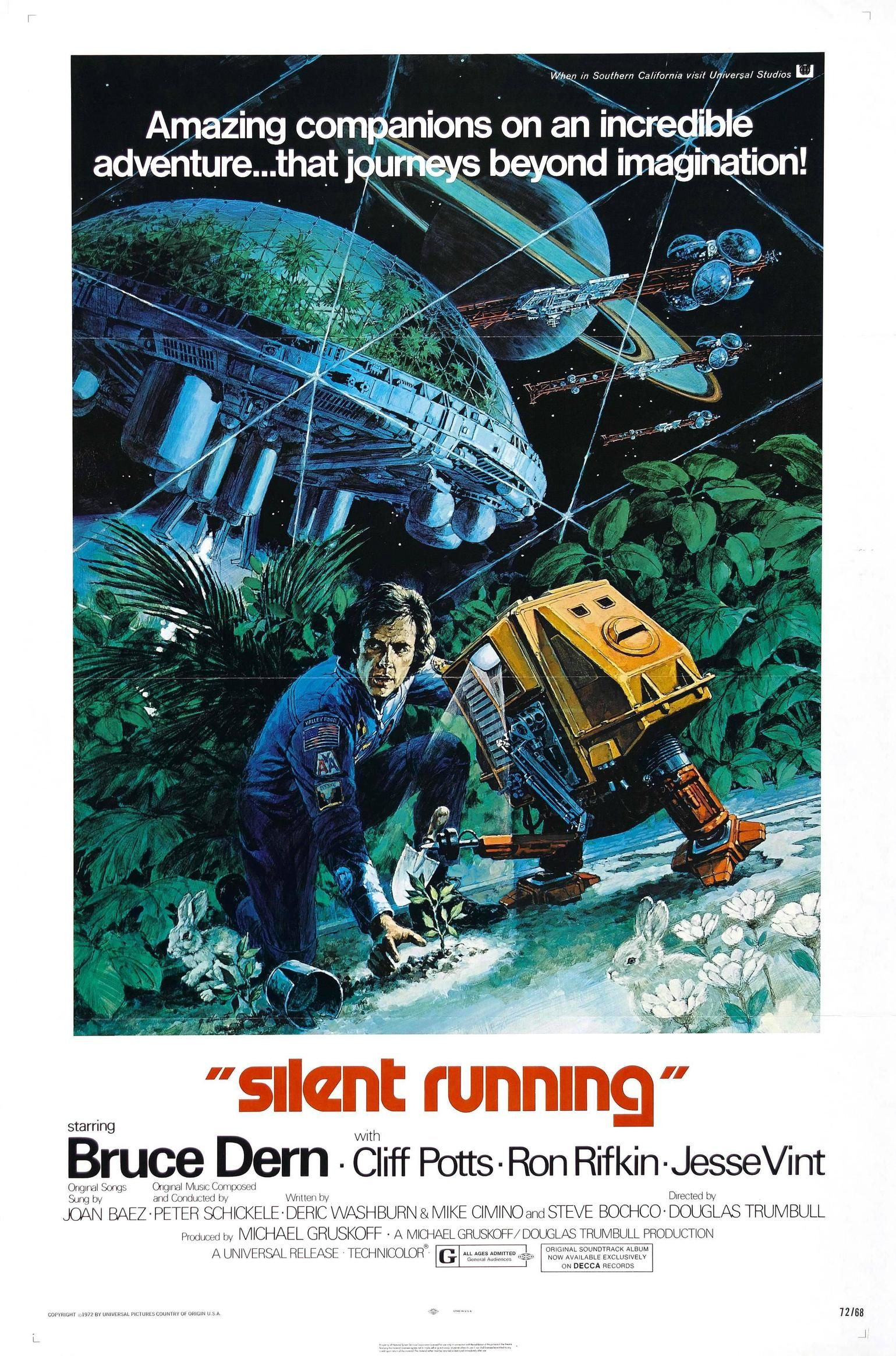 Silent Running Poster Silent Running Running Movies Horror Movie Posters